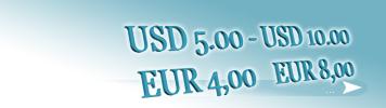 EUR 4,00 - EUR 8,00