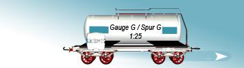 G Gauge, 1to25