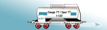 TT Gauge, 1to120