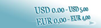 Artikel zum Preis von 0,00 - 4,00 EUR