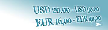Artikel zum Preis von 16,00 - 40,00 EUR