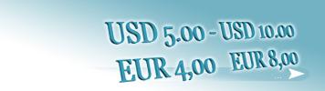 Artikel zum Preis von 4,00 - 8,00 EUR