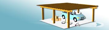 Puppenhaus Garage