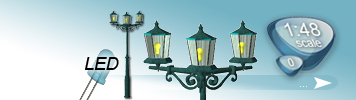 LED Parklaternen für Spur 0