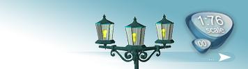 Lampen & Laternen für Spur 00