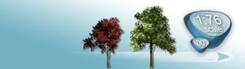 Bäume für Spur 00