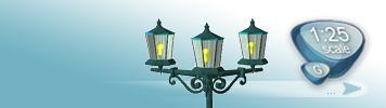 Lampen & Laternen für Spur G