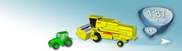 H0 Landwirtschaftliche Fahrzeuge