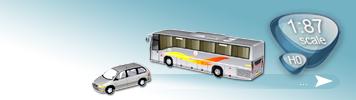 HO Cars & Buses