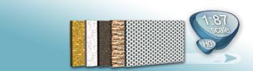 Boden Gestaltung für Spur H0