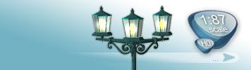 Lampen & Laternen für Spur H0