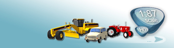 Vehicles for HO Gauge