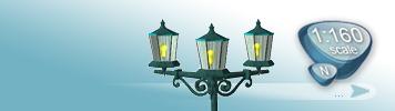 Lampen & Laternen für Spur N