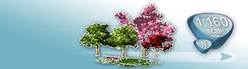Bäume & Pflanzen für Spur N