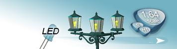 LED Lampen & Laternen für Spur S