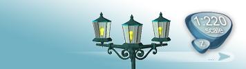 Lampen & Laternen für Spur Z