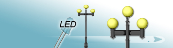3 LED Light Sources Lamp