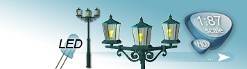 LED Park Lights for HO Gauge