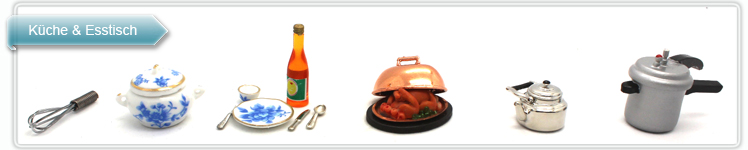 Puppen Küche, Miniatur Küche