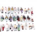 Spur Z Figuren, Maßstab 1:220 Reisende, 1:220 Zubehör aus Plastik, Stehende Spur Z Figuren
