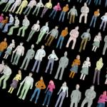 1:72 scale figures, 25mm figures, 1:72 scaled crowd figures, 1:76 scale miniatures