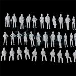 1:76 scale figures, OO gauge figures, OO gauge people, mixed 1:76 scaled figures, OO scale