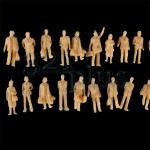 1:87 scale figures, 20mm miniatures, plastic miniature human figures, HO supplies