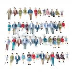 1:32 scale figures, 1:32 people, 1:32 scale plastic models, gauge 1 figures, mini people