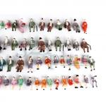 HO figures people, 1:87 scale figures, HO scale people,