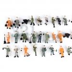 HO scale figures people, 1:87 figures, HO scale figures,  HO supply, HO humans workers