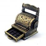 miniature cash register, miniature scenery supplies, 1:12 scale shop supply