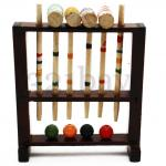 miniature croquet, miniature croquet set, miniature sports tools, dollhouse sport tools