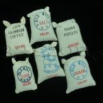 miniature flour pack, dollhouse bakery, miniature supplies for dollhouse
