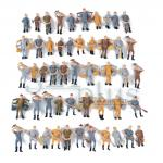 O scale people figures, O scale figures, O gauge accessories, 1:48 scaled miniatures