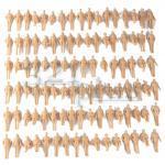 Figuren Maßstab 1:32, Spur 1 Figuren, sitzenden und stehende Figuren aus Plastik