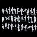 TT scale figures, 13mm figures, plastic TT scaled, TT gauge miniature supplies, 1/120 scal