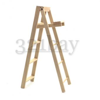 1:12 Scale Dollhouse Ladder | Miniature Supply