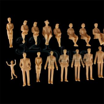 1:32 Scale Figures People | Architectural Model Supplies