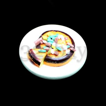 Dollhouse cake food miniatures