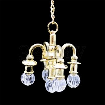 Dollhouse Chandelier | Miniature Doll House Accessories