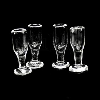 Dollhouse glasses for dollhouse party scenery