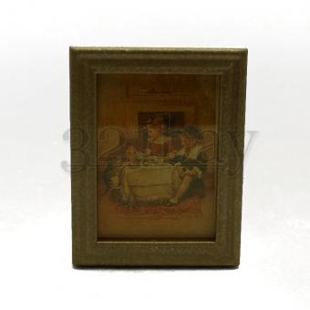 Dollhouse Miniature Painting 1 to 12 Scale Dollhouse Art