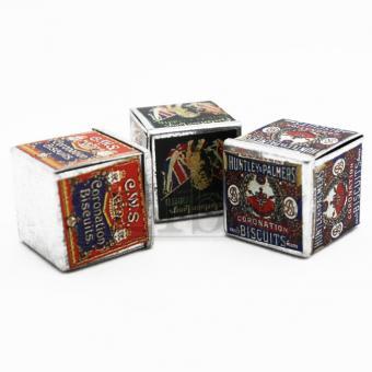 Mini Keks Miniatur Box für Puppenhaus Küche