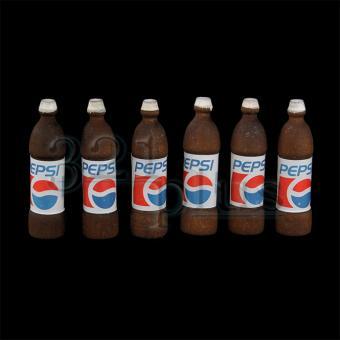 Mini Cola Flaschen für den Miniatur Kaufmannsladen
