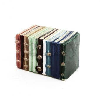 Miniature Books for Dollhouses |1/12th Scale Library