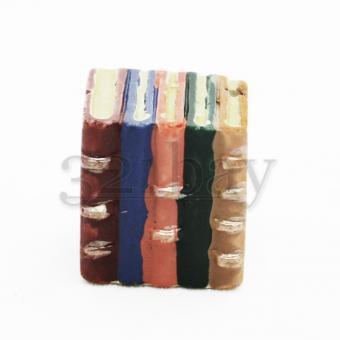 Puppenhaus Bücher als Schrank | Deko Miniaturen