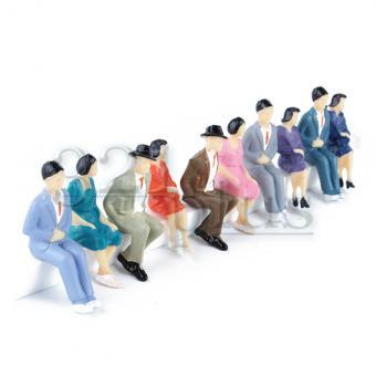 Sitting 1:32 Scale Figures | Miniature Model People