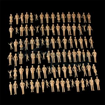Standing Architecture Model People | 1:32 Figures