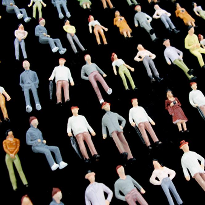 1:72 Figures   Diorama 1/72 Miniature Human Figures