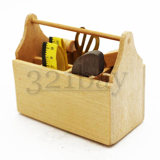 1:6 Scale Dollhouse Miniature Tool Box